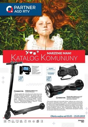 Gazetka promocyjna Partner AGD RTV  - Katalog komunijny