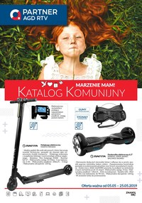 Gazetka promocyjna Partner AGD RTV  - Katalog komunijny  - ważna do 25-05-2019