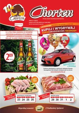 Gazetka promocyjna Chorten - Gazetka promocyjna