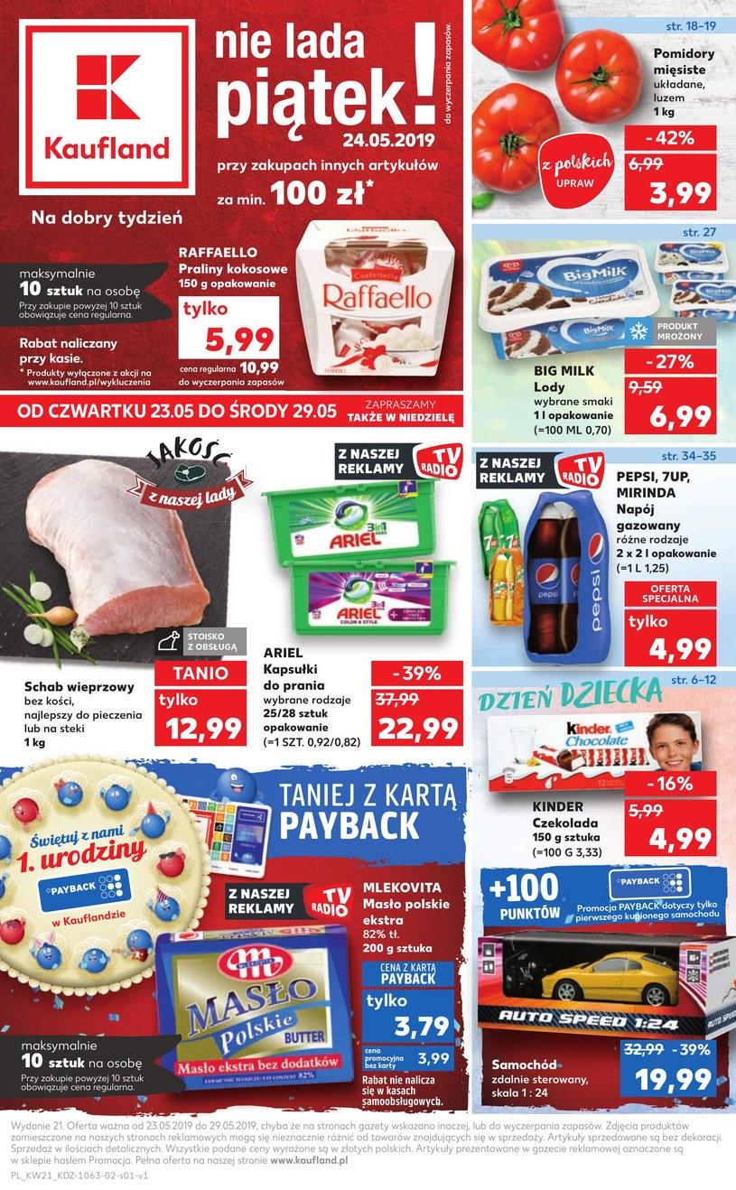 Gazetka promocyjna Kaufland - ważna od 23. 05. 2019 do 29. 05. 2019
