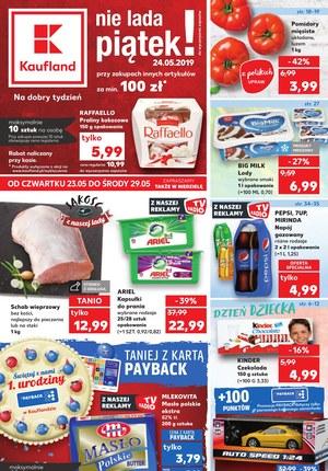 Gazetka promocyjna Kaufland, ważna od 23.05.2019 do 29.05.2019.