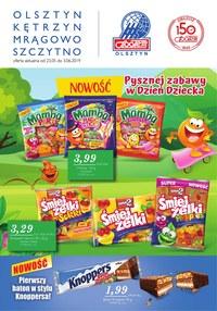Gazetka promocyjna Społem Olsztyn - Gazetka promocyjna - ważna do 03-06-2019