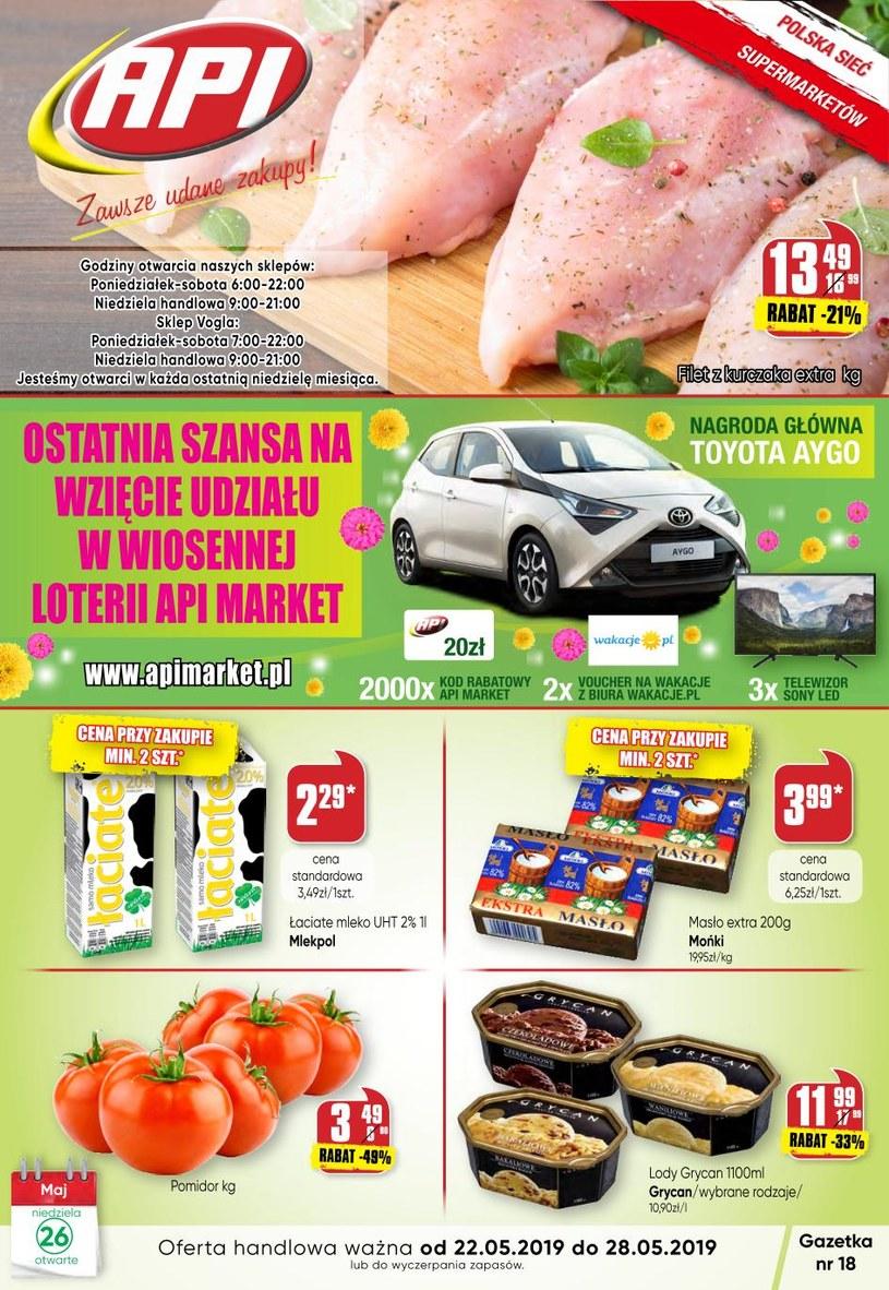 Gazetka promocyjna Api Market - ważna od 22. 05. 2019 do 28. 05. 2019