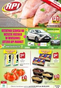 Gazetka promocyjna Api Market, ważna od 22.05.2019 do 28.05.2019.