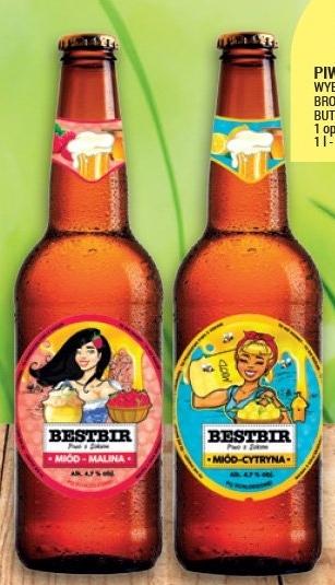 Piwo z sokiem Bestbir niska cena