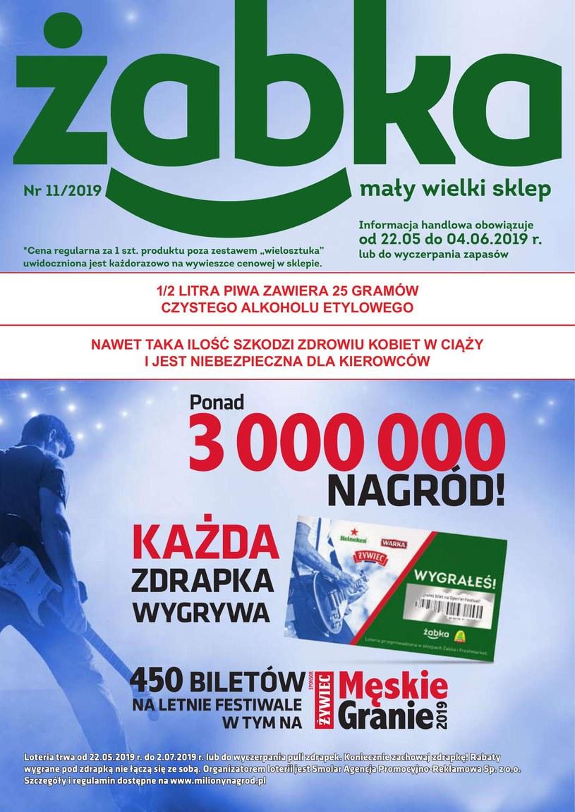Gazetka promocyjna Żabka - ważna od 22. 05. 2019 do 04. 06. 2019