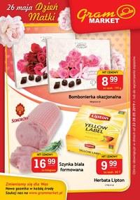 Gazetka promocyjna Gram Market, ważna od 22.05.2019 do 28.05.2019.