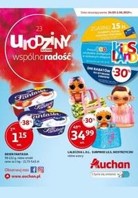Gazetka promocyjna Auchan, ważna od 24.05.2019 do 01.06.2019.