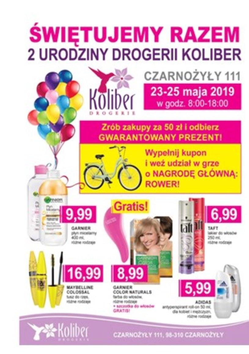 Gazetka promocyjna Drogerie Koliber - ważna od 23. 05. 2019 do 25. 05. 2019