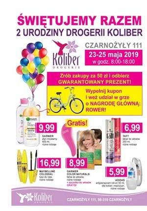 Gazetka promocyjna Drogerie Koliber - Świętujemy razem - Czarnożyły