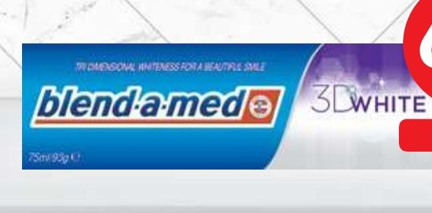 Pasta do zębów Blend-a-med niska cena