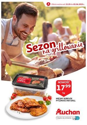 Gazetka promocyjna Auchan - Sezon na grillowanie