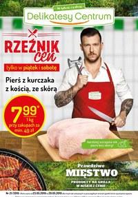 Gazetka promocyjna Delikatesy Centrum - Gazetka promocyjna  - ważna do 29-05-2019