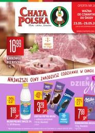 Gazetka promocyjna Chata Polska, ważna od 23.05.2019 do 29.05.2019.