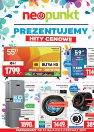 Gazetka promocyjna NEOPUNKT, ważna od 22.05.2019 do 04.06.2019.