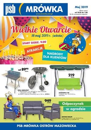 Gazetka promocyjna PSB Mrówka - Wielkie otwarcie - Ostrów Mazowiecka