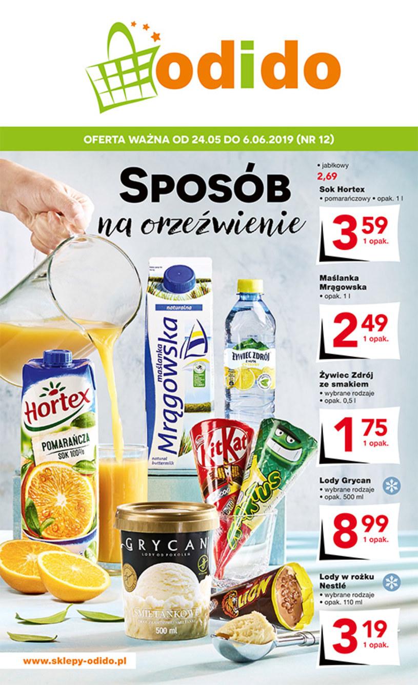 Gazetka promocyjna Odido - ważna od 24. 05. 2019 do 06. 06. 2019