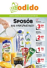 Gazetka promocyjna Odido - Sposób na orzeźwienie - ważna do 06-06-2019