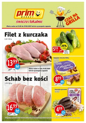 Gazetka promocyjna Prim Market - Gazetka promocyjna