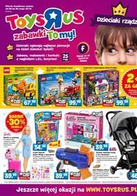 """Gazetka promocyjna Toys""""R""""Us - Dzieciaki rządzą! - ważna do 30-05-2019"""