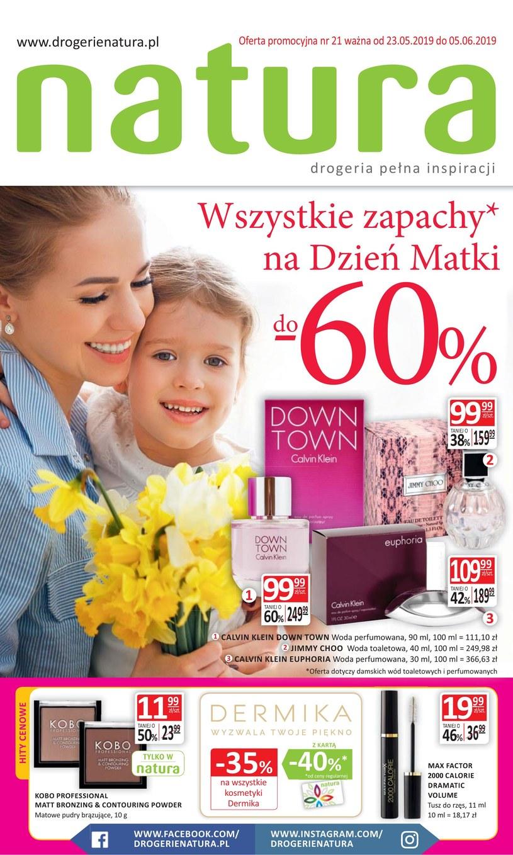 Gazetka promocyjna Drogerie Natura - ważna od 23. 05. 2019 do 05. 06. 2019