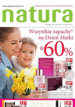 Gazetka promocyjna Drogerie Natura, ważna od 23.05.2019 do 05.06.2019.