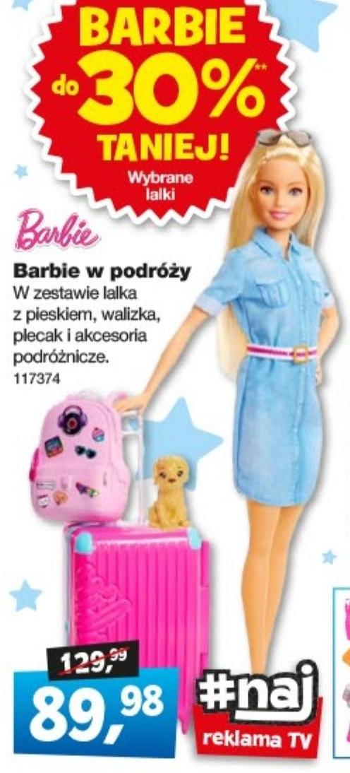 Barbie w podróży  niska cena
