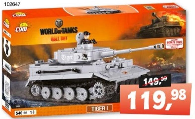 Czołg Tiger I niska cena