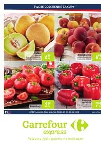 Gazetka promocyjna Carrefour Express, ważna od 28.05.2019 do 03.06.2019.