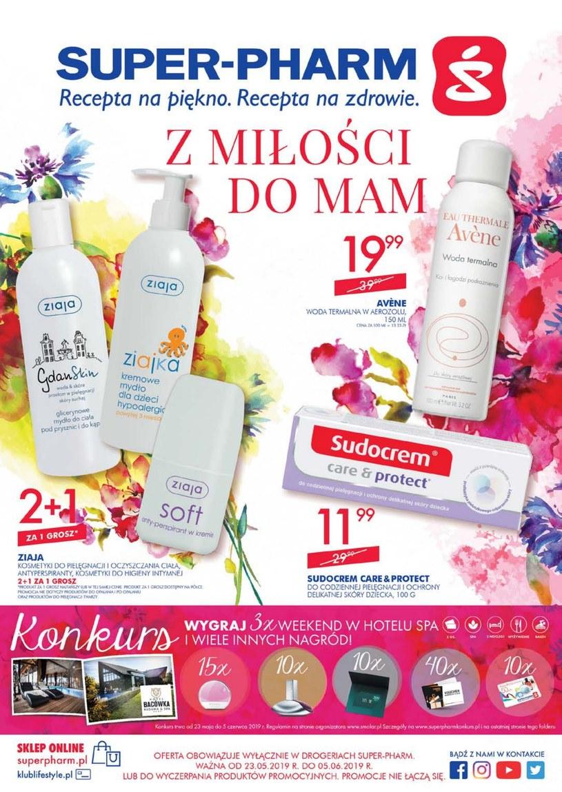 Gazetka promocyjna Super-Pharm - ważna od 23. 05. 2019 do 05. 06. 2019