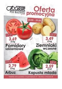 Gazetka promocyjna PSS Bochnia, ważna od 23.05.2019 do 29.05.2019.