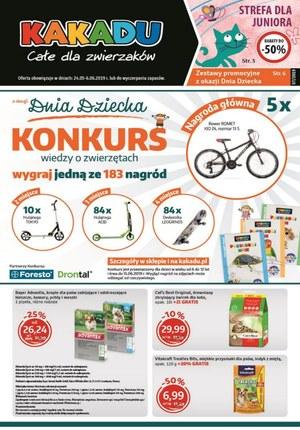 Gazetka promocyjna Kakadu, ważna od 24.05.2019 do 06.06.2019.
