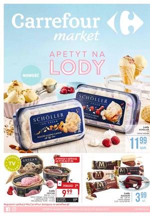 Gazetka promocyjna Carrefour Market - Apetyt na lody