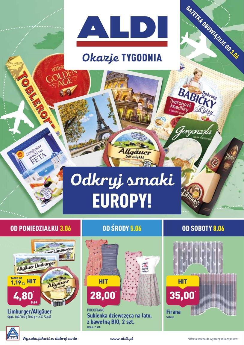 Gazetka promocyjna Aldi - ważna od 03. 06. 2019 do 08. 06. 2019