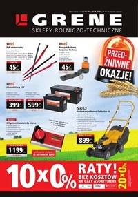 Gazetka promocyjna Grene - Sklepy rolniczo-techniczne - ważna do 14-06-2019