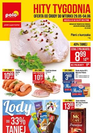 Gazetka promocyjna POLOmarket, ważna od 29.05.2019 do 04.06.2019.