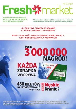 Gazetka promocyjna Freshmarket, ważna od 22.05.2019 do 04.06.2019.