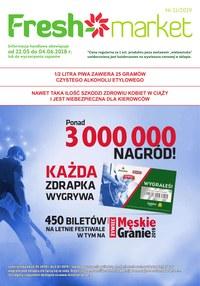 Gazetka promocyjna Freshmarket - Gazetka promocyjna - ważna do 04-06-2019
