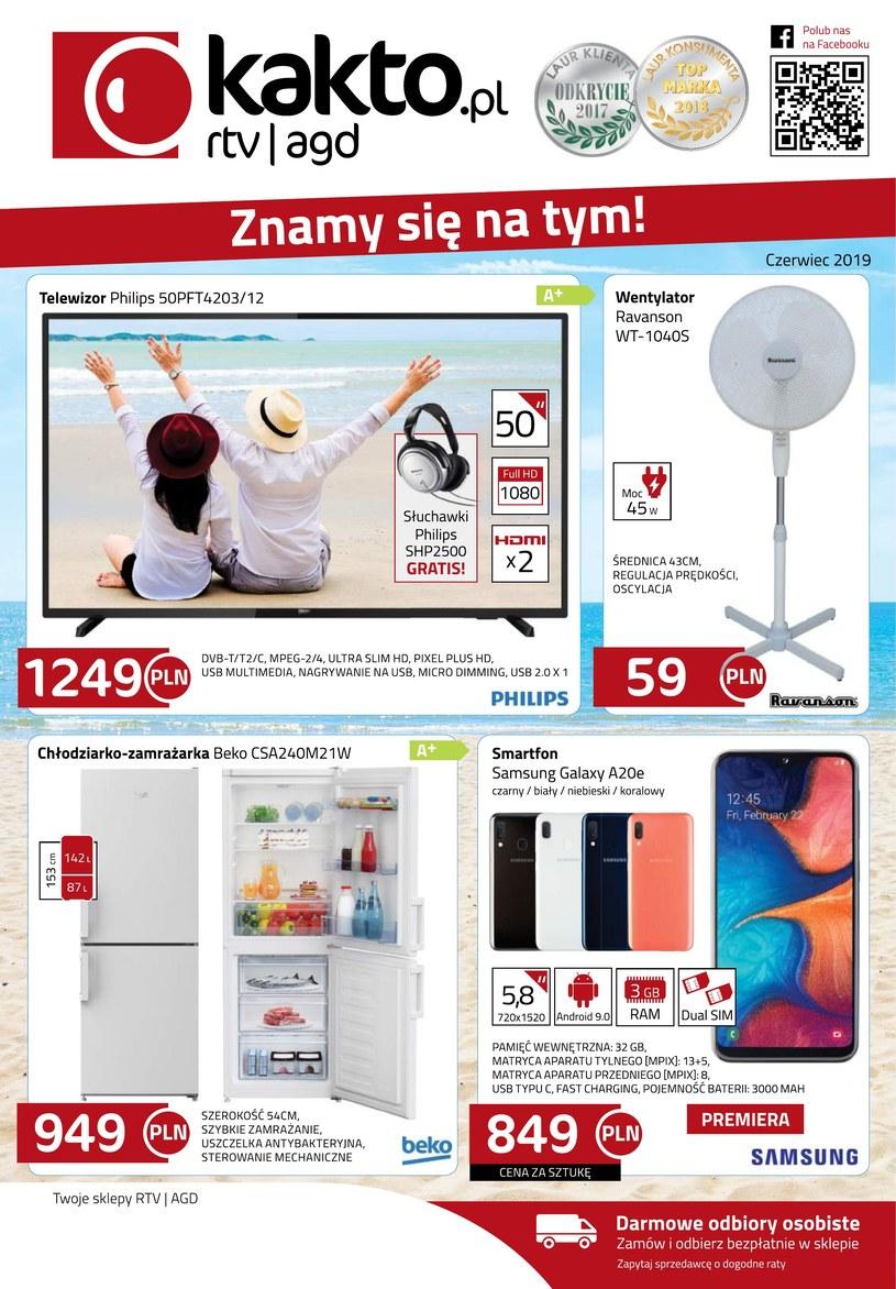 Gazetka promocyjna Kakto.pl - ważna od 01. 06. 2019 do 30. 06. 2019