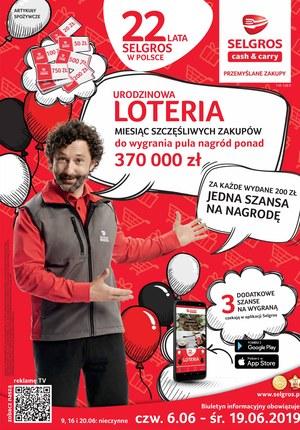 Gazetka promocyjna Selgros Cash&Carry, ważna od 06.06.2019 do 19.06.2019.