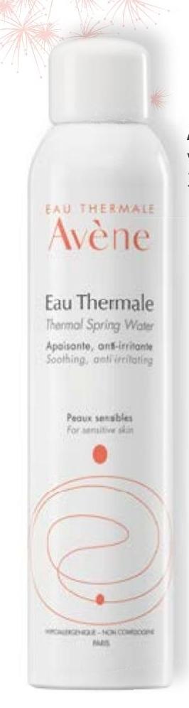 Woda termalna Avene niska cena