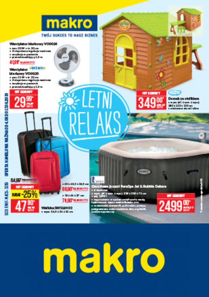 Gazetka promocyjna Makro Cash&Carry - ważna od 04. 06. 2019 do 17. 06. 2019
