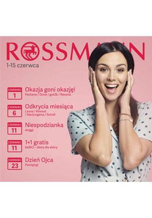 Gazetka promocyjna Rossmann, ważna od 01.06.2019 do 15.06.2019.
