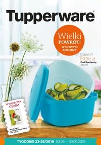 Gazetka promocyjna Tupperware, ważna od 03.06.2019 do 30.06.2019.