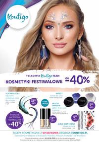 Gazetka promocyjna Kontigo - Kosmetyki Festiwalowe - ważna do 16-06-2019