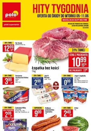 Gazetka promocyjna POLOmarket, ważna od 05.06.2019 do 11.06.2019.
