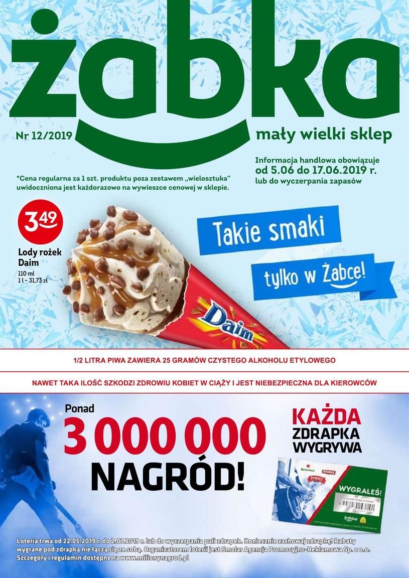 Gazetka promocyjna Żabka - wygasła 2 dni temu