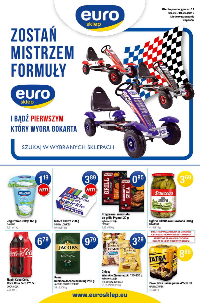 Gazetka promocyjna Euro Sklep - ważna od 06. 06. 2019 do 19. 06. 2019