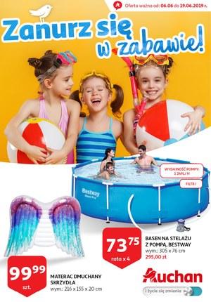 Gazetka promocyjna Auchan, ważna od 06.06.2019 do 19.06.2019.