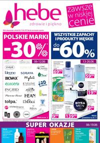 Gazetka promocyjna Hebe, ważna od 06.06.2019 do 19.06.2019.